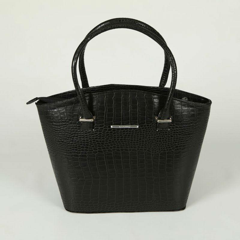 078729283eb0 Женская классическая сумка М64-10 черная — заказывайте недорого