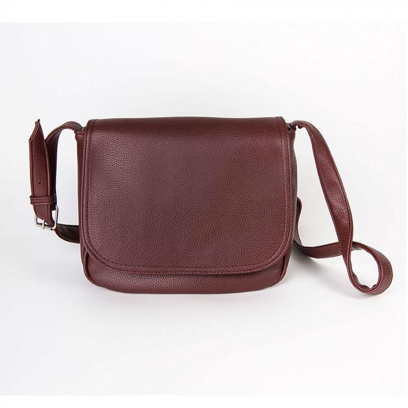 859830b469da Женская сумка кросс-боди М52-38 бордовая — заказывайте недорого