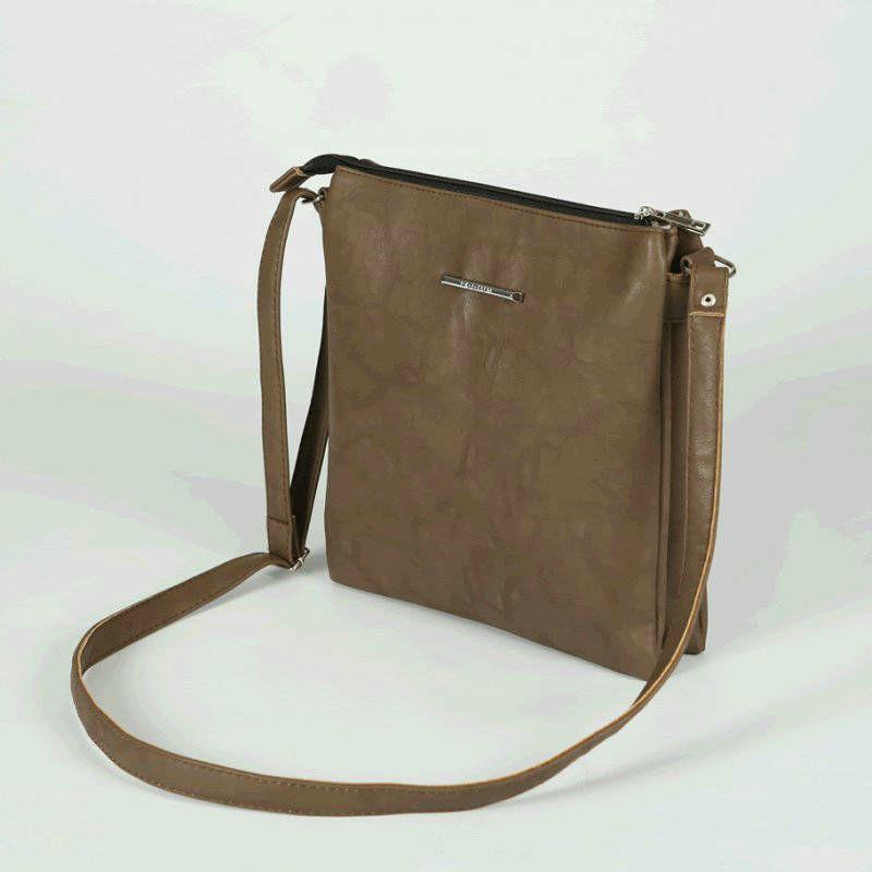 Женская сумка-планшет М67-9 коричневая — заказывайте недорого 9c1d94eae3f67