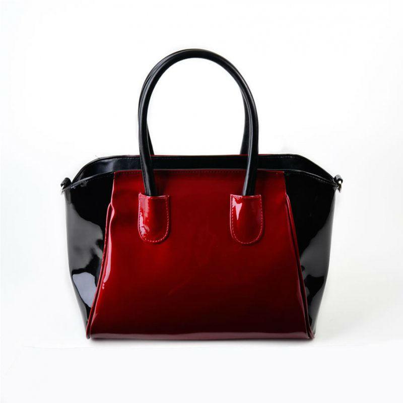 Жіноча лакова сумка М120-58 60 27 червона — замовляйте недорого a5342d02e1705