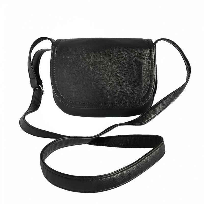 982cfd3d13fa Женская маленькая сумка через плечо М55-47 черная — заказывайте недорого