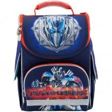 Рюкзак шкільний каркасний Kite Transformers TF18-501S-2 синій