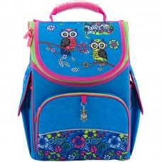 Рюкзак шкільний каркасний Kite Pretty owls K18-501S-6 блакитний
