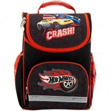 Рюкзак шкільний каркасний Kite Hot Wheels HW18-701M чорний