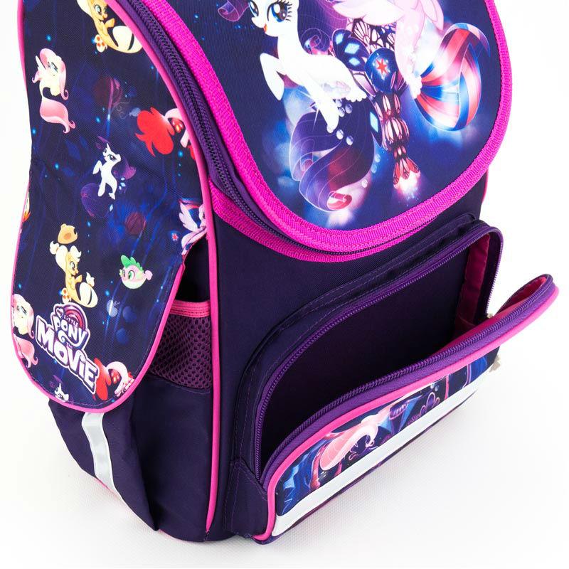 662b58485fe4 ... Рюкзак школьный каркасный Kite My Little Pony LP18-501S-2 фиолетовый ...