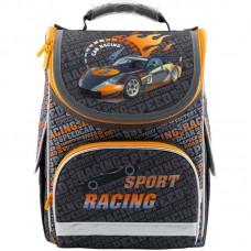 Рюкзак шкільний каркасний Kite Sport racing K18-501S-2 темно-сірий