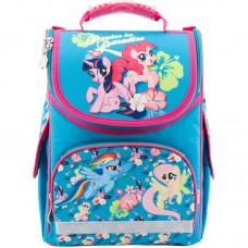Рюкзак шкільний каркасний Kite My Little Pony LP18-501S-1 бірюзовий