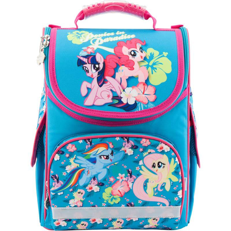 86ad06d01622 Рюкзак школьный каркасный Kite My Little Pony LP18-501S-1 бирюзовый ...