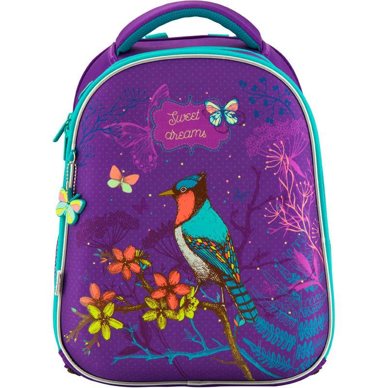 d9f0249bded5 Рюкзак школьный каркасный Kite Sweet dreams K18-731M-2 фиолетовый ...