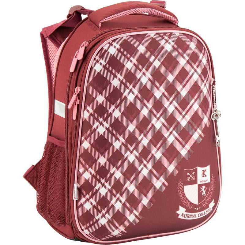acaf43618338 ... Рюкзак школьный каркасный KITE 531 College K17-531M-2 коричневый ...