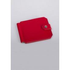 Кошелек зажим Klasni 0305 красный K-03-05-01-3