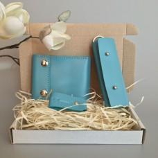Подарочный набор Klasni Mini голубой К-08-05-08-3