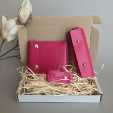 Подарочный набор Klasni Mini розовый К-08-05-10-3