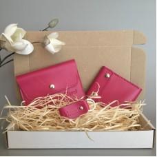 Подарунковий набір Klasni Aconite рожевий До-08-06-10-3