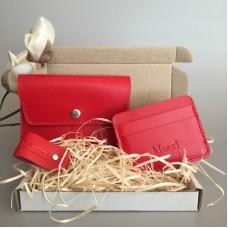 Подарунковий набір Klasni Aconite червоний N-10-R