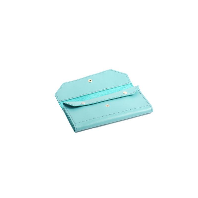 65fa444cc230 Портмоне для женщин Klasni K-03-01-08-3 голубое купить от ...