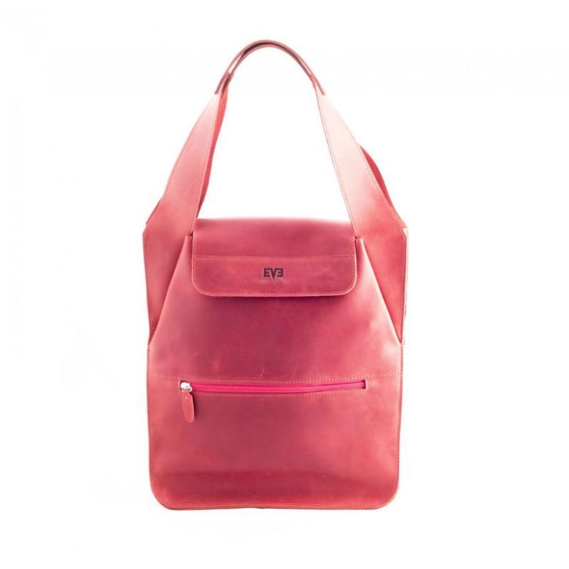 Женская кожаная сумка Пакет красная от производителя LEVEL недорого ... bc683d554f9