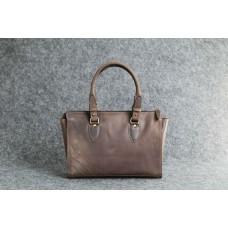 """Женская кожаная сумка """"Трина S"""" коричневая"""