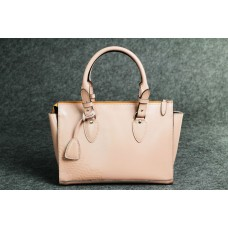 """Женская кожаная сумка """"Трина S"""" розовая кайзер"""