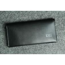"""Чоловічий шкіряний гаманець """"Тревел-міні"""" чорний"""