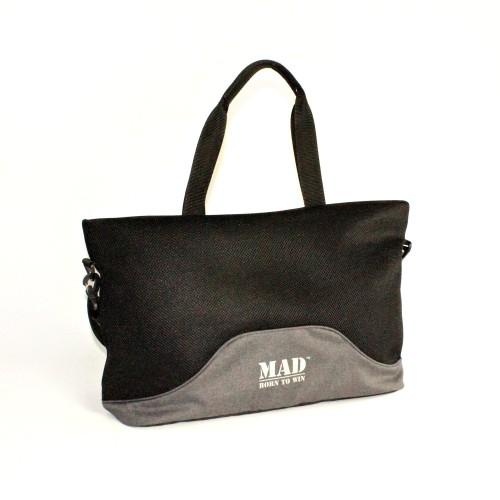 Жіноча спортивна сумка LATTICE MAD SLA8090 сіра