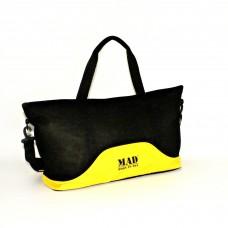 Женская спортивная сумка LATTICE MAD SLA8020 желтая