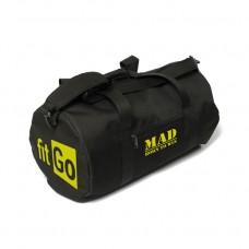 Спортивна сумка FitGo чорна