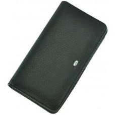 Кожаный мужской кошелек ST M29 Black