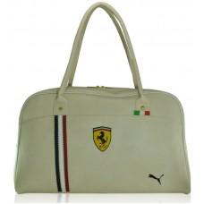 Спортивная сумка Puma Valise бежевая