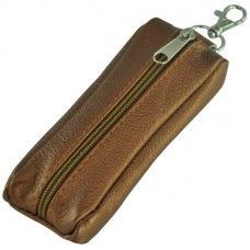 Кожаная ключница Thick коричневая