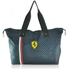 Спортивная стеганая сумка Puma Trapeze синяя