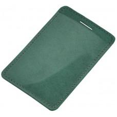 Кожаный чехол для карты Biometric зеленый