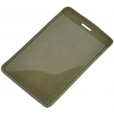 Кожаный чехол для карты Biometric хаки
