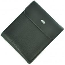 Кожаный мужской кошелек ST M55 Black