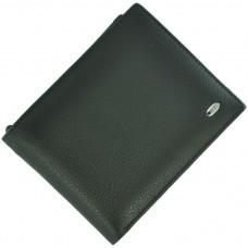 Кожаный мужской кошелек ST M30 Black