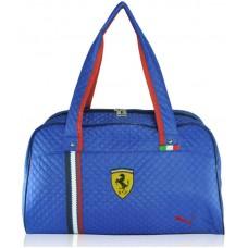 Спортивная стеганая сумка Puma Valise синяя