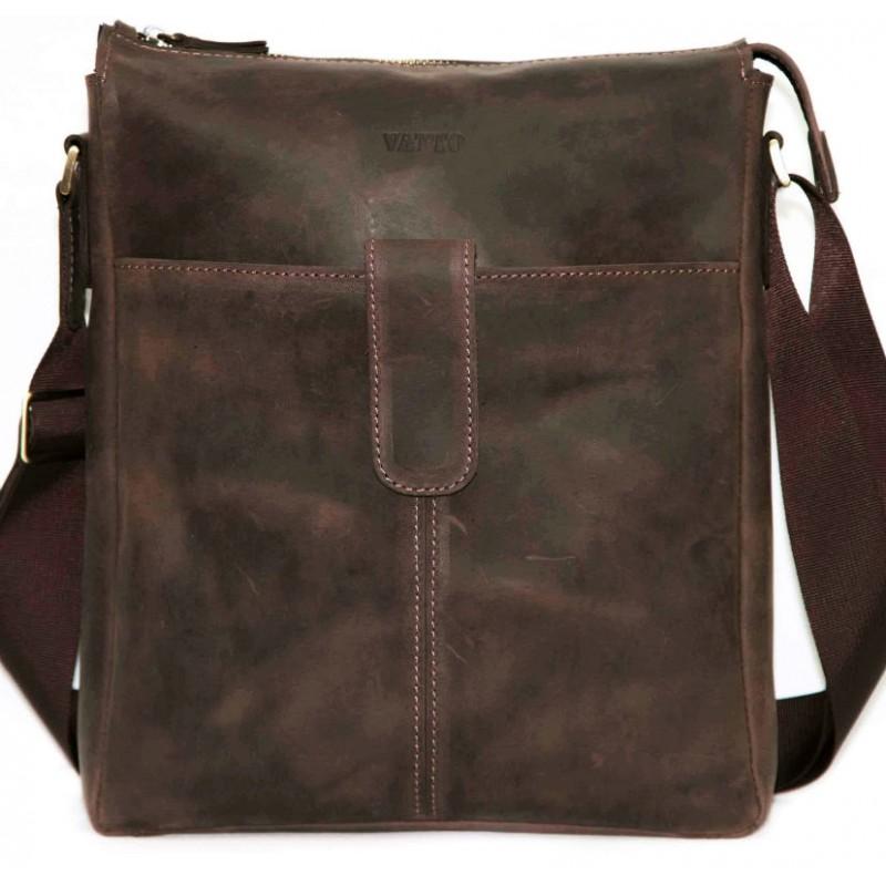 b8f6a75225bd Мужская кожаная сумка Mk18 Kr450 коричневая — купить в интернет ...