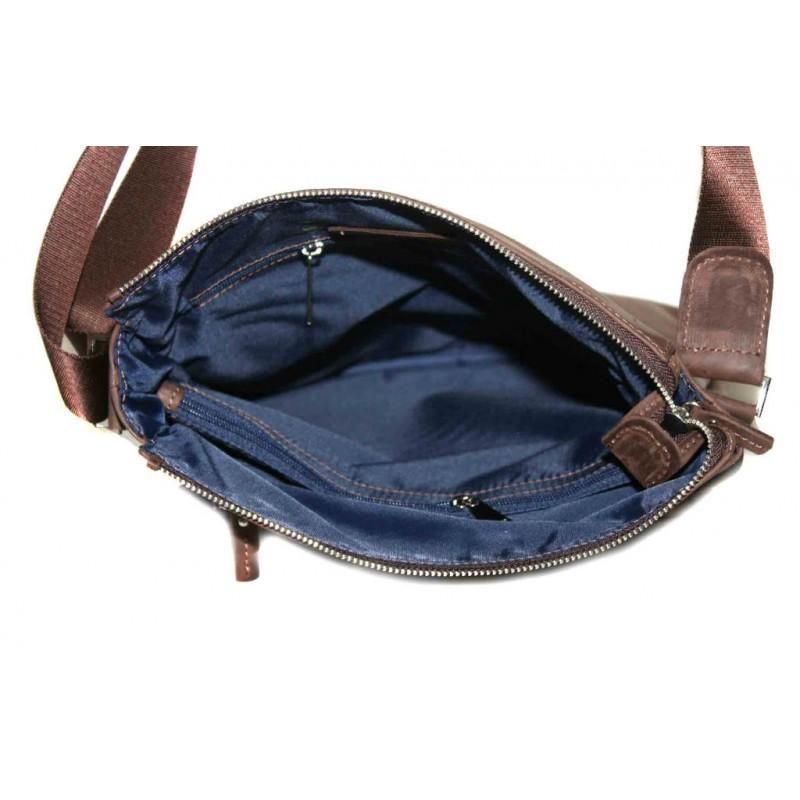 469ed2ca3d15 Мужская кожаная сумка VATTO Mк41Кr450 коричневая Мужская кожаная сумка VATTO  Mк41Кr450 коричневая ...