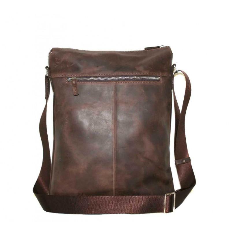ce4b09bc0817 Мужская кожаная сумка Mк41Кr450 коричневая — купить в интернет ...