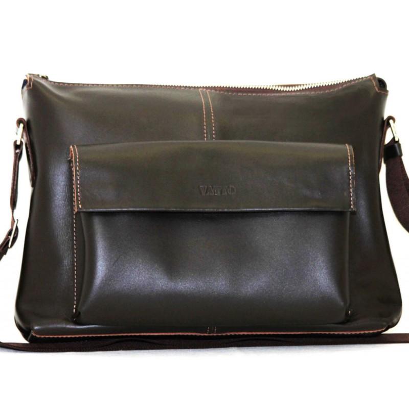 ae3c111128b9 Мужской кожаный портфель MK20.1Kaz400 коричневый — купить в интернет ...