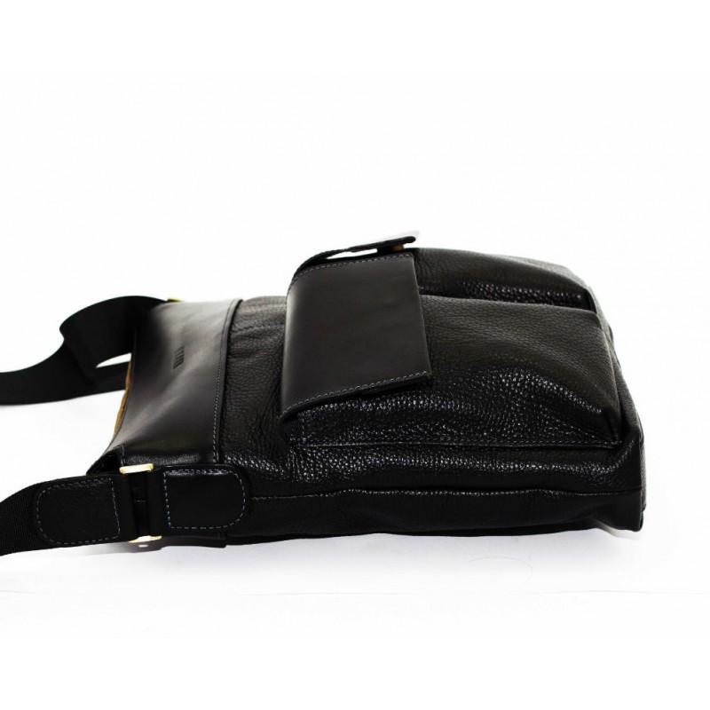 33cff537fb93 Мужская кожаная сумка Mk41.4 FL8Kаz1 чёрная — купить в интернет ...