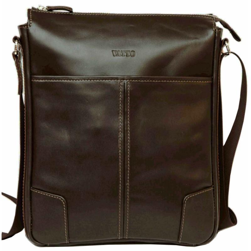 b1ada8cbe853 Мужская кожаная сумка Mk10 Kaz400 коричневая — купить в интернет ...