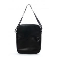 Мужская сумка POOLPARTY pool18-pu черная