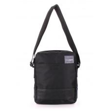 Мужская сумка на плечо POOLPARTY pool-94-oxford-black черная