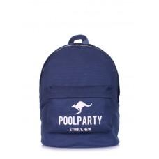 Рюкзак молодежный POOLPARTY backpack-kangaroo-darkblue тёмно-синий