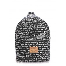 Рюкзак молодежный POOLPARTY backpack-signature-black черный