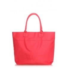 Коттонова сумка poolparty-paradise-red-none червона
