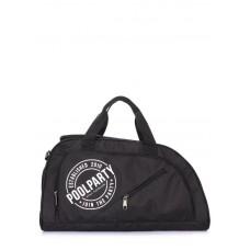 Спортивна сумка POOLPARTY dynamic-black чорна