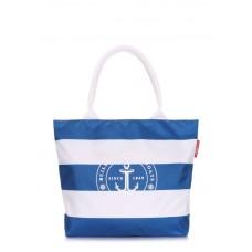 Морська сумка POOLPARTY marine-blue синя