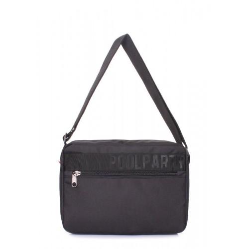 Городская сумка POOLPARTY Code code-black черная
